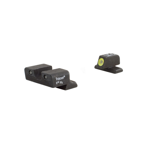 Trijicon Trijicon HD Night Sight Set Yellow Front, Springfield XD Series SP101Y