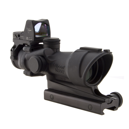Trijicon Trijicon ACOG 4x32 Cen Illuminated Amber X-Reticle 223 4 Minutes Of Angle TA01NSN-RMR