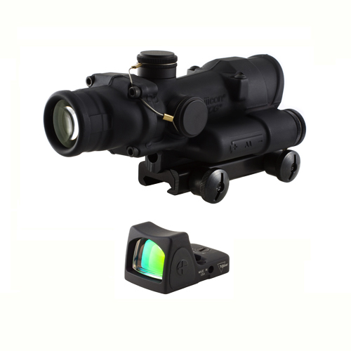 Trijicon Trijicon ACOG 4x32 LED Chevron Reticle w/TA51 Mount & RM06 TA02-RM06