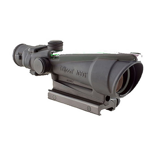 Trijicon ACOG 3.5x35 Dual Illuminated Green Chevron 223 Ballistic
