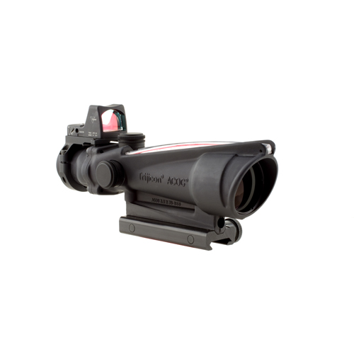 Trijicon ACOG 3.5x35 Illuminated Red-X Reticle .223 4.0 Minutes Of Angle