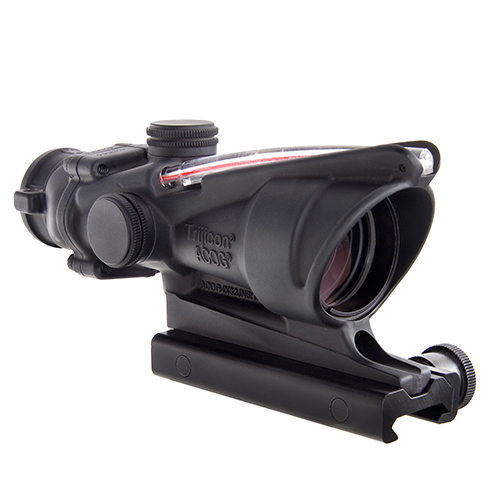 Trijicon Trijicon ACOG 4x32 Dual Illuminated Red XHair 223 Ballistic TA31-CH