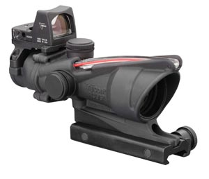 Trijicon Trijicon ACOG 4x32 Illuminated Red Dot 223 4.0 MOA TA31-RMR