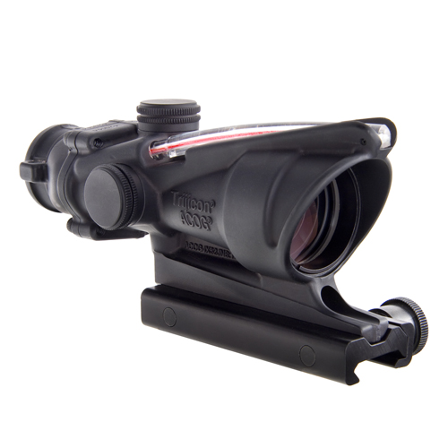 Trijicon Trijicon ACOG 4x32 Red Chevron BAC Flattop Reticle TA31F
