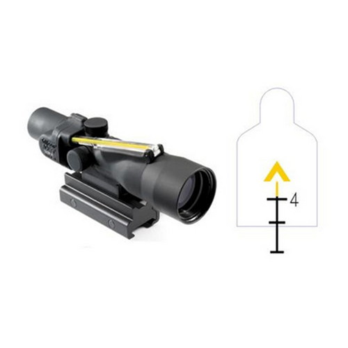 Trijicon Trijicon ACOG 3x30mm Dual Amber Chevron/308 Ballistic Reticle TA33-9