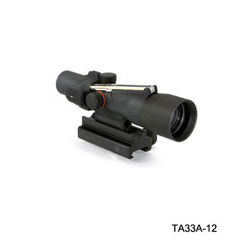 Trijicon Trijicon ACOG 3x30 Dual Illumination Amber X Hair, 308 Win TA33A-12