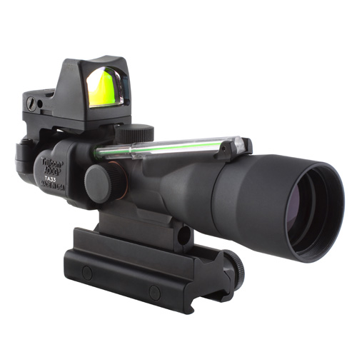 Trijicon Trijicon ACOG 3x30 Dual Illumination Green HorseShoe 223 Ball 4.0 TA33G-H-RMR