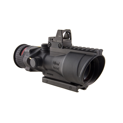 Trijicon Trijicon ACOG 6x48 Illuminated Red Chevron .500 8.0 Minutes Of Angle TA648RMR-50