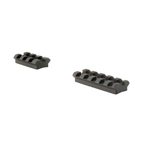 Trijicon Trijicon AccuPoint Mount/Base 2 Piece Ambidextrous Steel Base Browning A-Bolt TR127