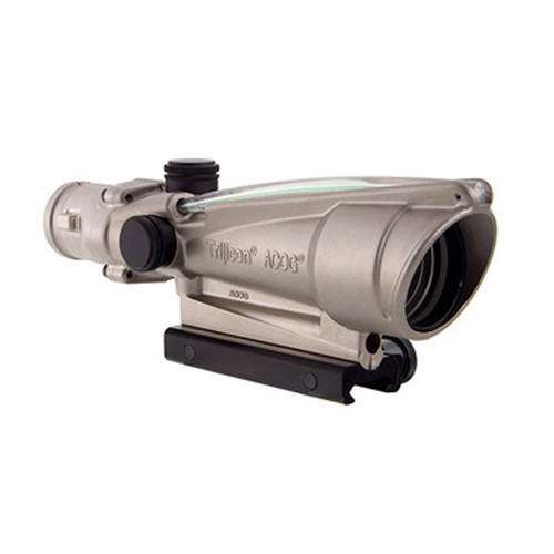 Trijicon ACOG 3.5x35 Nickel Boron Dual Illuminated Green Chevron