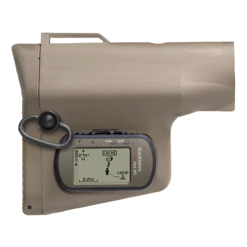 Troy Industries Troy Industries GPS NAV Stock Flat Dark Earth, with GPS SBUT-GPS-00FT-00
