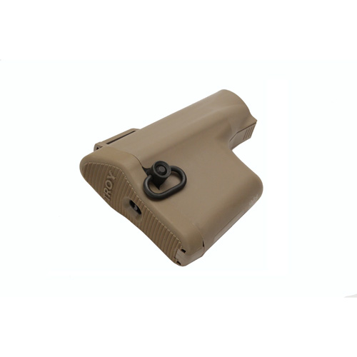 Troy Industries Troy Industries Battle Ax CQB Stock Kit Tan SBUT-KIT-00TT-00