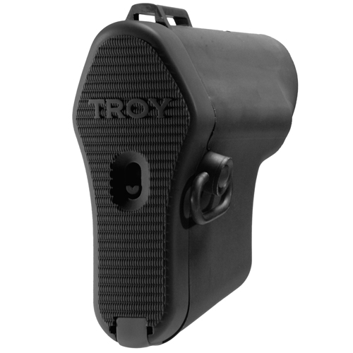 Troy Industries Troy Industries Lightweight Battle Ax CQB Stock - Black Stock Only SBUT-LW1-00BT-00