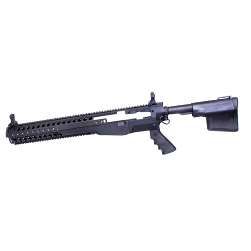 Troy Industries Troy Industries M14 Modular Chassis System DMR/CQB Package Black SCHA-MCS-D0BT-00