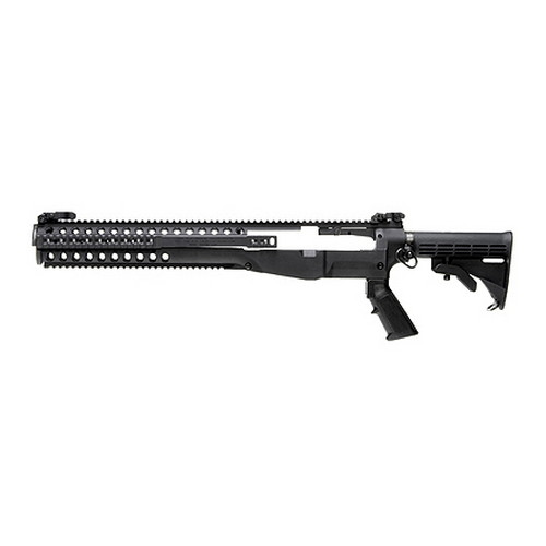 Troy Industries Troy Industries M14 Modular Chassis System (w/M4 Stock & Grip) Black SCHA-MCS-M0BT-00