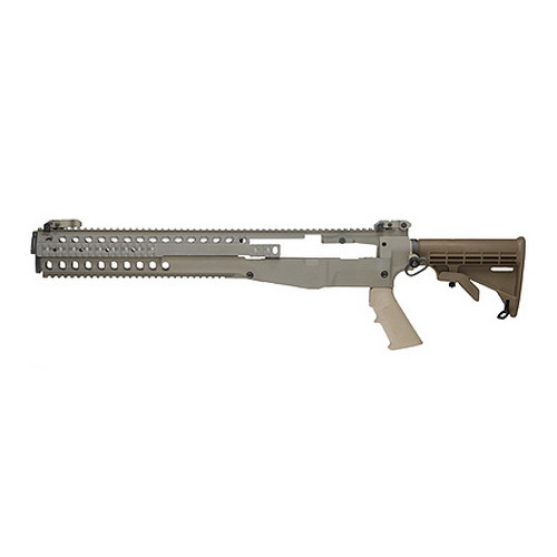 Troy Industries Troy Industries M14 Modular Chassis System (w/M4 Stock & Grip) Flat Dark Earth SCHA-MCS-M0FT-00