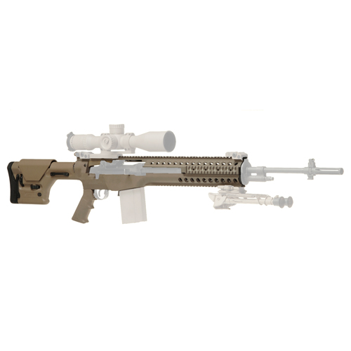 Troy Industries Troy Industries M14 Modular Chassis System (SASS Package) Flat Dark Earth SCHA-MCS-S0FT-00