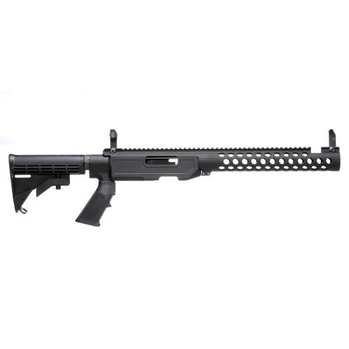 Troy Industries Troy Industries T22 TRX Chassis Kit, Black Sport, Extended SCHA-T22-E0BT-00