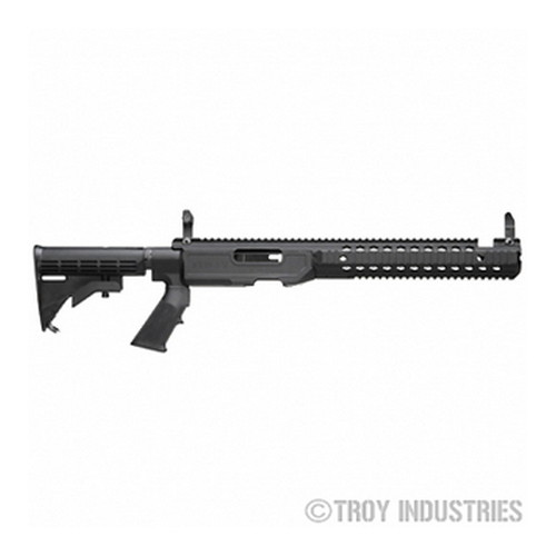 Troy Industries Troy Industries T22 TRX Chassis Kit, Black Tactical, Standard SCHA-T22-S0BT-00