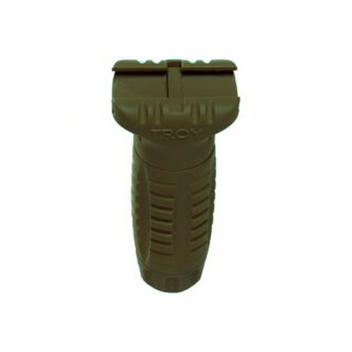 Troy Industries CBQ Vertical Grip, Polymer Olive Drab