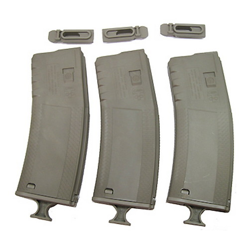 Troy Industries Troy Industries Battlemag 30 Round- 3 Pack Flat Dark Earth SMAG-3PK-00FT-00