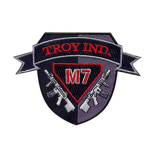Troy Industries Troy Industries Patch M7 Shield SPAT-PAT-000T-03