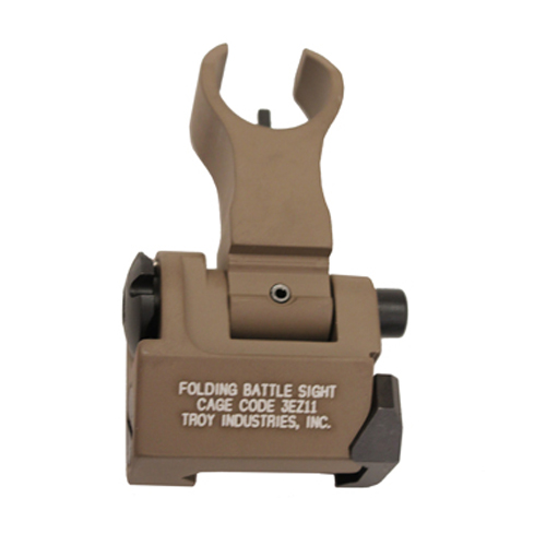 Troy Industries Troy Industries Front HK Style Sight Folding, Flat Dark Earth SSIG-FBS-FHFT-00