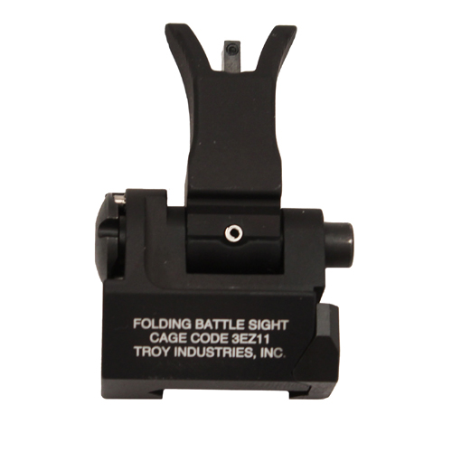 Troy Industries Troy Industries Front Folding Style M4 Sight Black, Tritium SSIG-FBS-FMBT-01