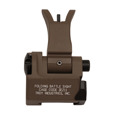 Troy Industries Troy Industries Front Folding Style M4 Sight Flat Dark Earth SSIG-FBS-FMFT-00