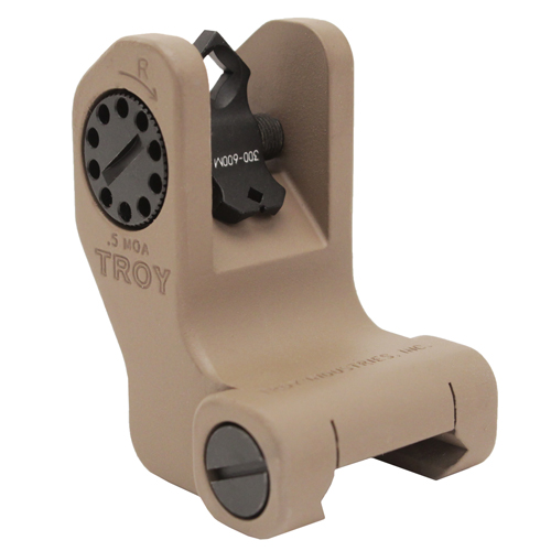 Troy Industries Troy Industries DOA Rear Sight Flat Dark Earth, Fixed SSIG-FBS-RDFT-00