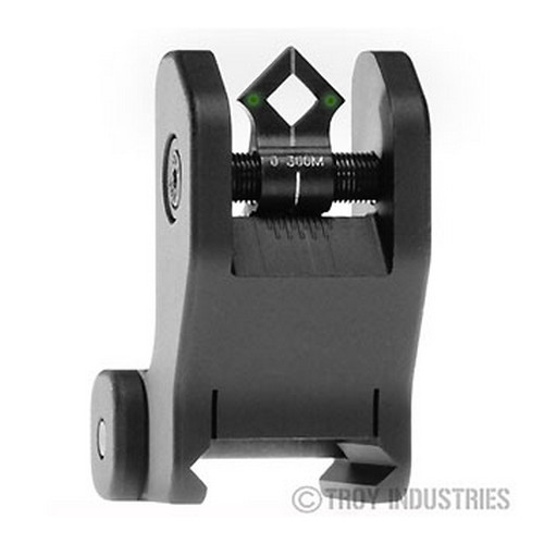 Troy Industries Troy Industries DOA Rear Sight Black, Fixed, Tritium SSIG-FIX-RTBT-00