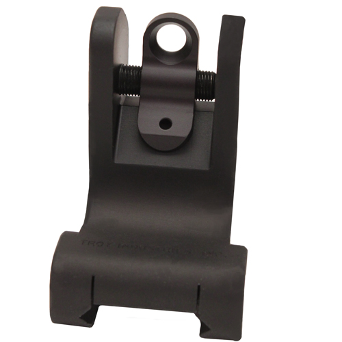 Troy Industries Troy Industries Rear Battle Sight Black, Fixed SSIG-FRS-R0BT-00
