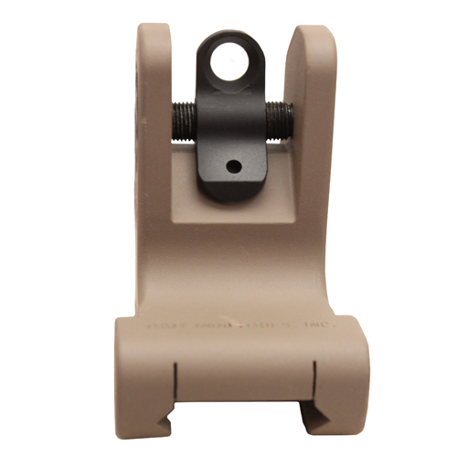 Troy Industries Troy Industries Rear Battle Sight Flat Dark Earth, Fixed SSIG-FRS-R0FT-00