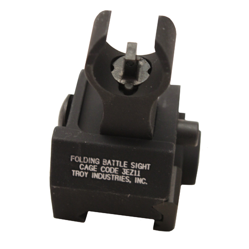 Troy Industries Troy Industries Front HK Gas Block Sight Black, Tritium, Folding SSIG-GBF-00BT-01