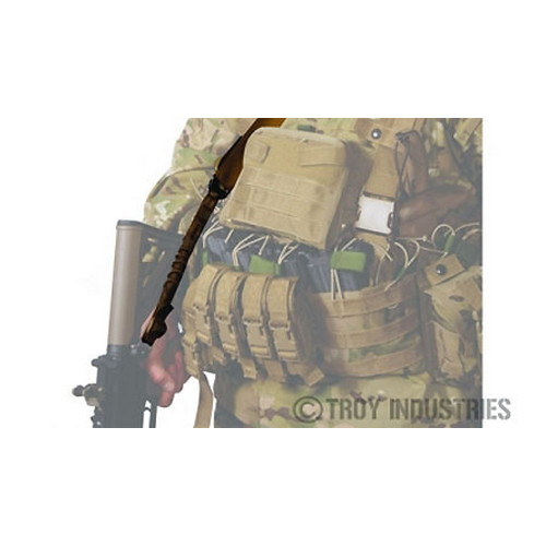 Troy Industries Troy Industries One Point Sling Extension USMC Coyote Tan SSLI-1PS-X0FT-00