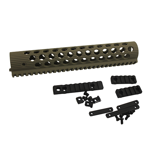 Troy Industries Troy Industries Alpha Rail Flat Dark Earth No Sight 11
