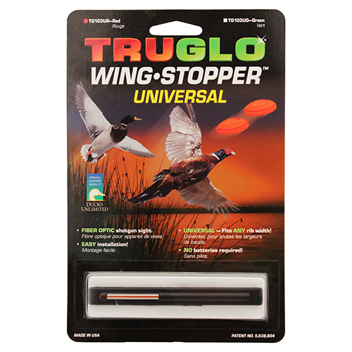 Truglo Truglo Wing Stopper Sight Universal Red TG103UR