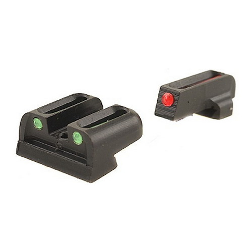 Truglo Truglo Fiber Optic Set, Handgun Sig #8 Front / #8 Rear TG131S1