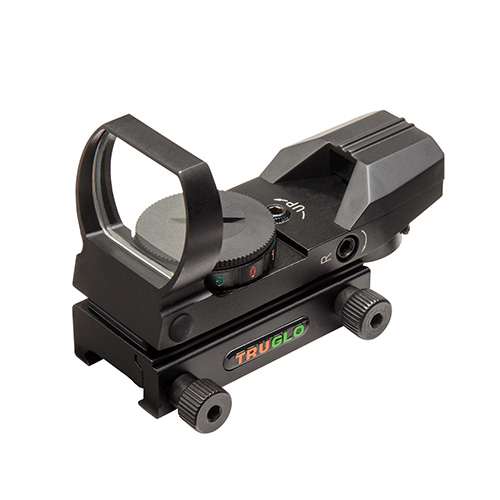 Truglo Truglo Red-Dot Sight Open, 4 Reticle, Black TG8360B