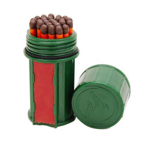 UCO Storm Proof Match Kit Dark Green