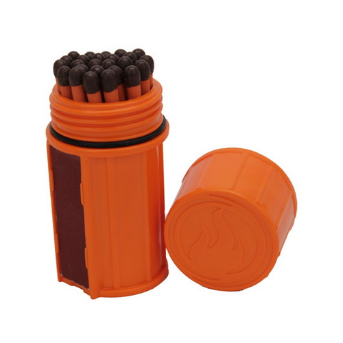 UCO UCO Storm Proof Match Kit Orange MT-SM-CONT-ORANGE