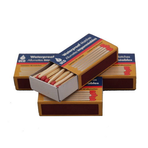 UCO UCO Waterproof Matches (Per 4) MT-WAT-4PK