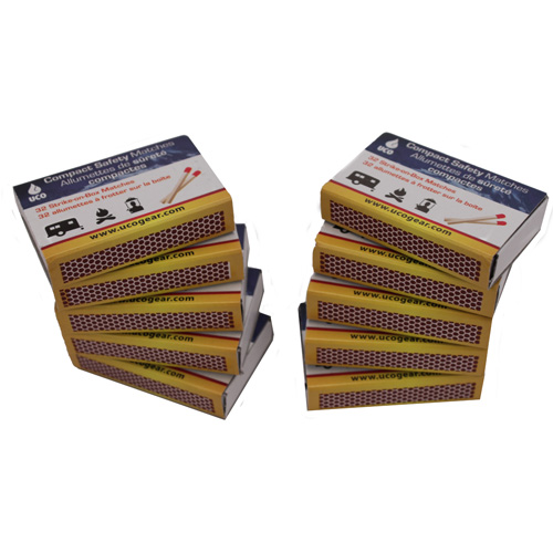UCO UCO Compact Safety Matches (Per 10) MT-CM-10PK