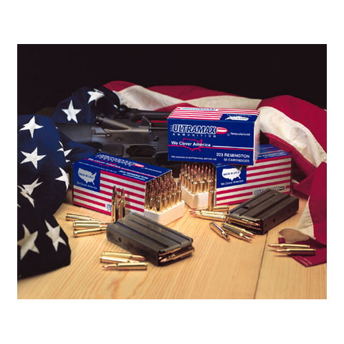 Ultramax Ultramax 223 Remington Remanufactured by 55gr, Nosler Ballistic Tip, (Per 20) 223R47