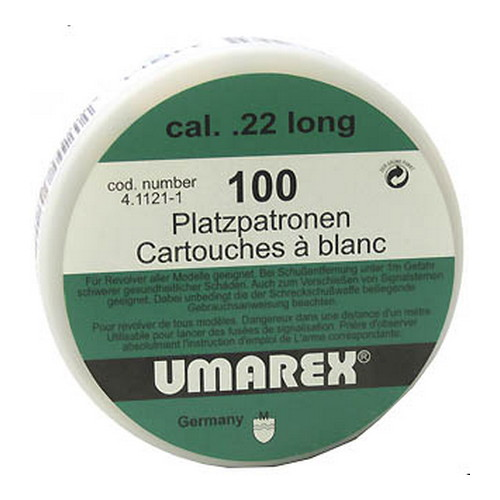 Umarex USA Umarex USA Blanks Blank .22 Long (Per 100) 2252751