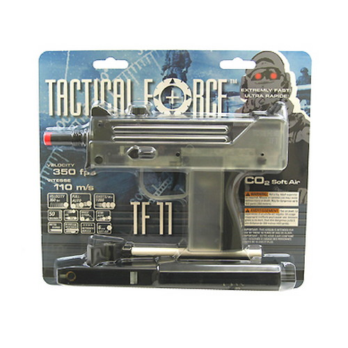 Umarex USA Umarex USA Tactical Force TF11, CO2, Clear and Black Machine Gun 2261011
