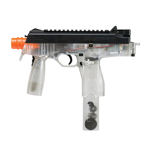Umarex USA Umarex USA Combat Zone Mag 9 Airsoft Gun, Folding Stock Clear 2272111