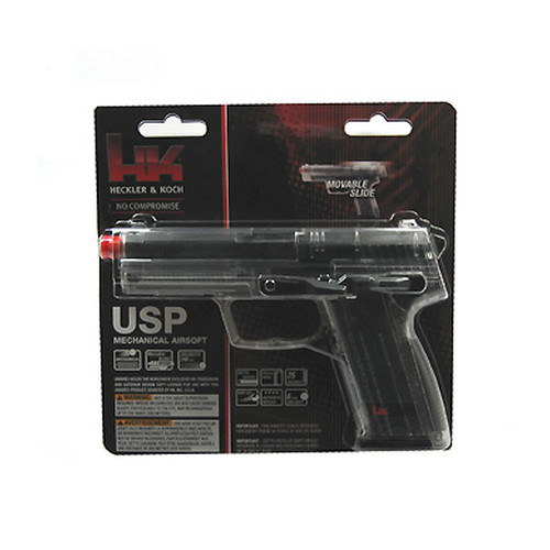 Umarex USA Umarex USA H&K Replica Soft Air USP, Spring, Clear .6MM BB 2273001