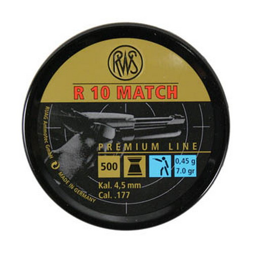 Umarex USA Umarex USA R10 Match Light .177, 7.0gr (Per 500) 2315018