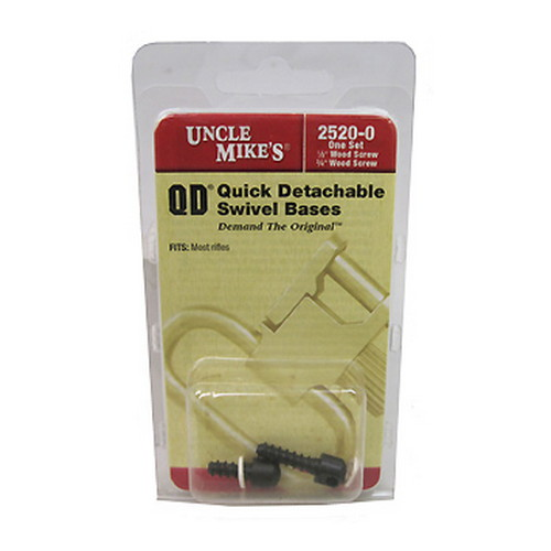 Uncle Mikes Uncle Mikes 115 RGS Swivel Base Screw, 1 Pair 25200